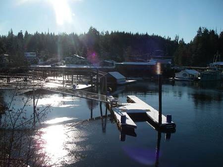 Bamfield in Winter