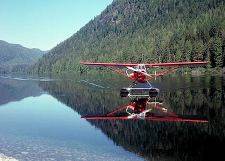 Seaplane on Sproat Lake