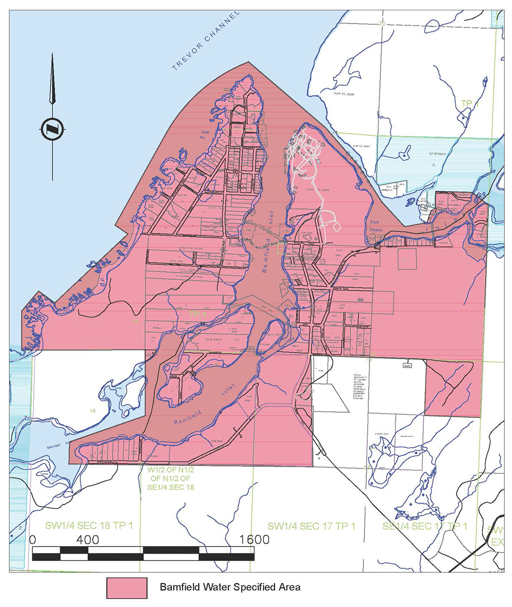 Bamfield Water Specified Area