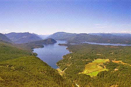 Sproat Lake - Aerial View